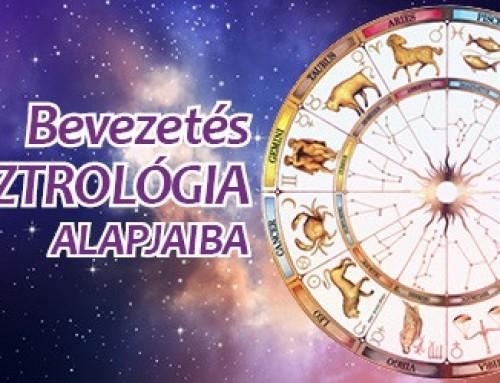 Bevezetés az asztrológia alapjaiba 7 alkalmas tanfolyam